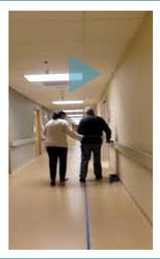 Walkasins Sensory Neuroprosthesis   Patient Walk Before
